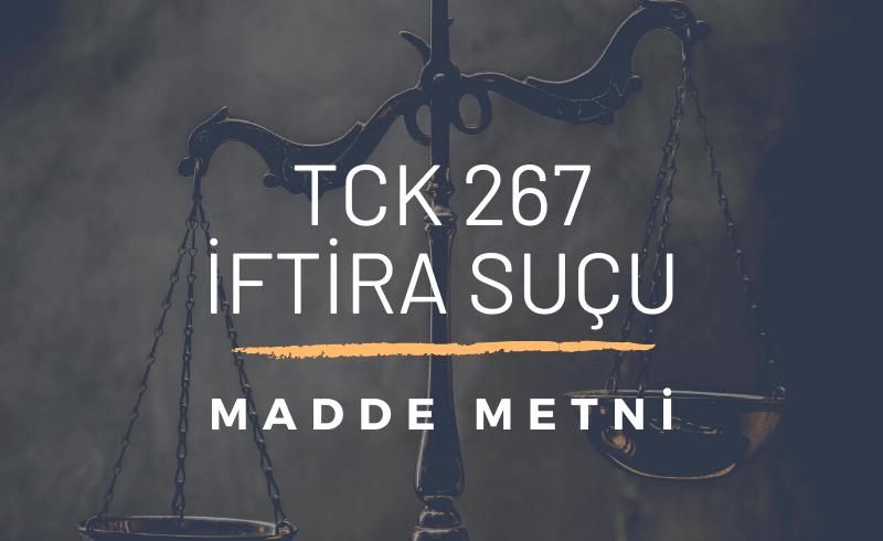 TCK 267 İftira
