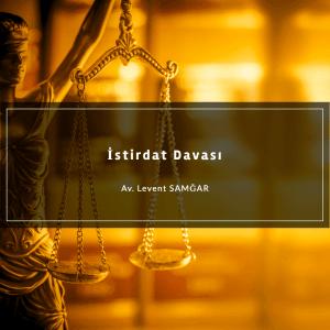 İstirdat Davası